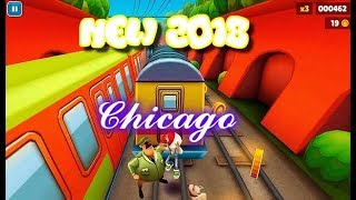 Subway Surfers New Gameplay World Tour - PlayThrough @ Chicago with our Amira the Genie Girl 2018