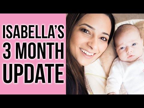 3 MONTH OLD BABY UPDATE AND POSTPARTUM - Postnatal Depression Dream Feed & Routine  Ysis Lorenna