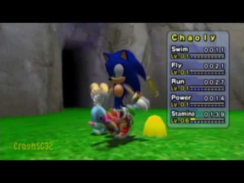 How To Make A Super Sonic Chao - Part 1