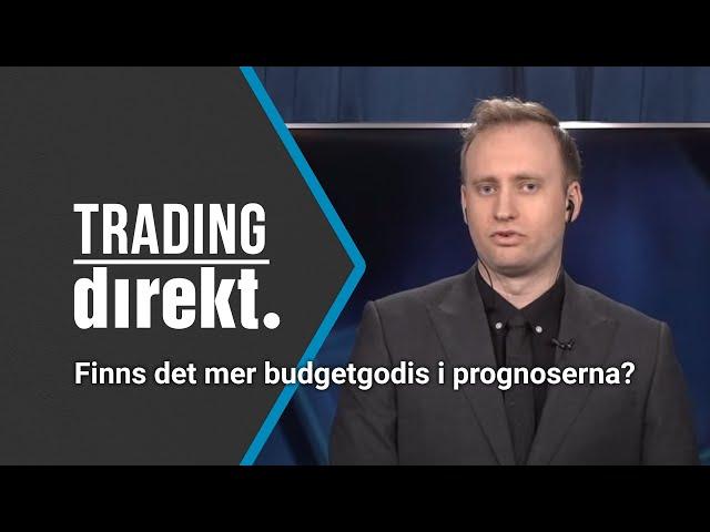 Trading Direkt 2021-03-12: Riksgäldens chefsekonom svarar: Finns det mer budgetgodis i prognoserna?