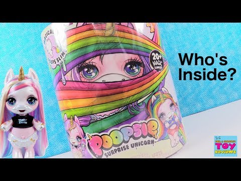 Poopsie Surprise Unicorn Magical Slime Blind Bag Toy Review | PSToyReviews