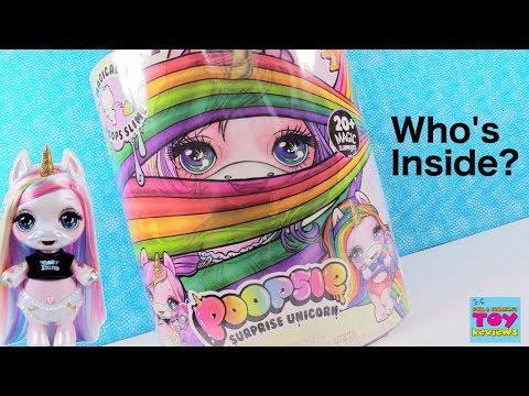 Poopsie Surprise Unicorn Magical Slime Blind Bag Toy Review | PSToyReviews - Смешные видео приколы