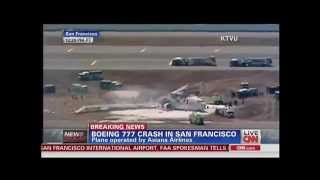 Asiana Airlines Boeing 777 Crashes During Landing At San Francisco International Airport