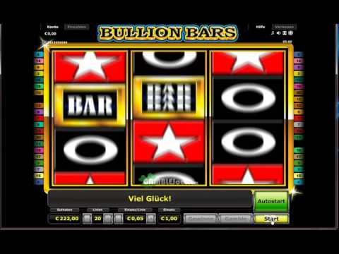 Bullion Bars Freispiele   Stargames Echtgeld
