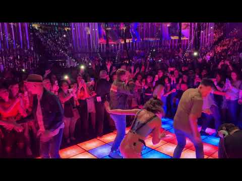 Justin Timberlake - View From The Party Pit Dance Floor!