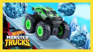 THE ULTIMATE MONSTER TRUCKS DOWNHILL RACE | Monster Trucks Island | Hot Wheels