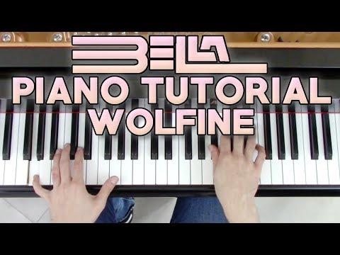 """bella""---piano-tutorial-+-partitura-(sheet-music)---wolfine-|-george-vidal"