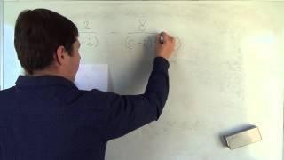 Алгебра 8 класс. 30 сентября. Сложение и вычитание алгебраических дробей с разными знаменателями #9