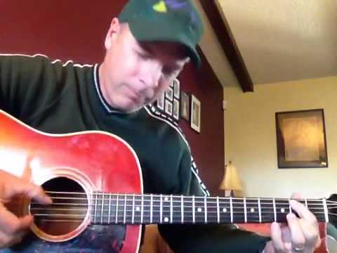Don't Stop Believin' acoustic guitar solo by Stephen Brannen
