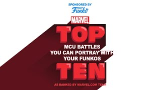 Top 10 MCU Battles You Can Create With Your Funkos (sponsored by Funko) | Marvel Top 10