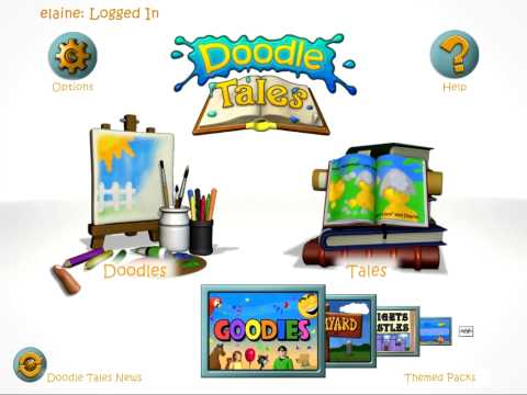 Doodle Tales - Registration and Login