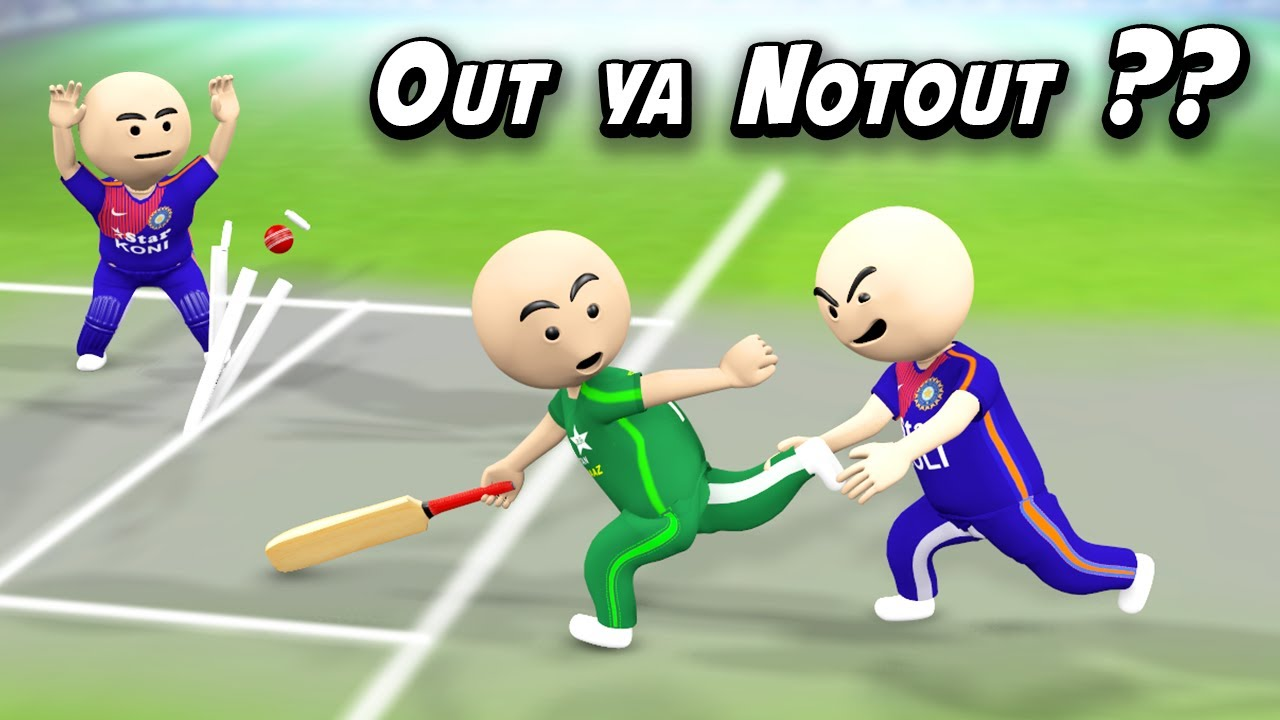 OUT YA NOTOUT - WORLD CUP FINAL || PART 2 || INDIA VS PAKISTAN || LAST OVER