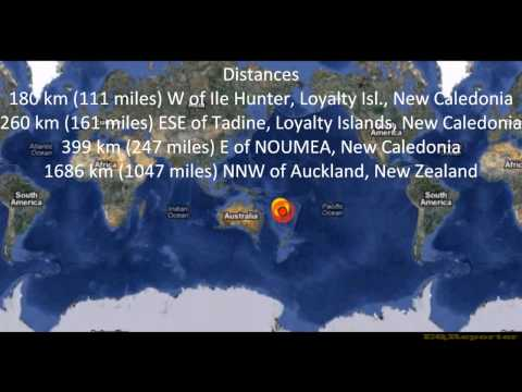 M 6.9 EARTHQUAKE - SOUTHEAST OF THE LOYALTY ISLANDS 03/03/12