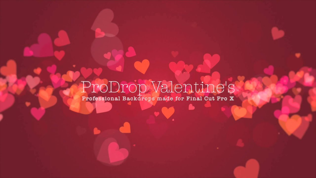 prodrop valentines professional backdrops for final cut pro x pixel film studios youtube - Valentines Backdrops