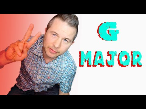 How To Play G Major Chord On Guitar (2018) Easy ! - YouTube