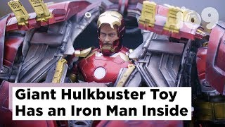 Giant Fully-Mechanized Hulkbuster Toy Has a Full Iron Man Inside | SDCC 2015
