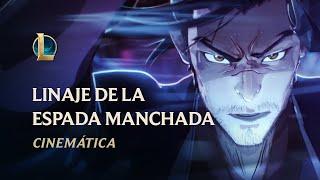 Baixar Linaje de la Espada Manchada   Cinemática Flor Espiritual 2020 - League of Legends