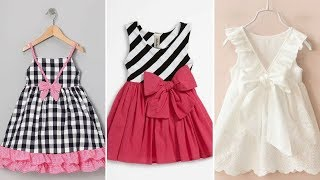 Kids Beautiful Cotton Frocks Designs / Summer Outfit.......