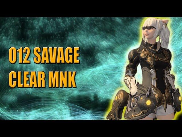 Final Fantasy XIV O12S M/F + Final Omega clear MNK