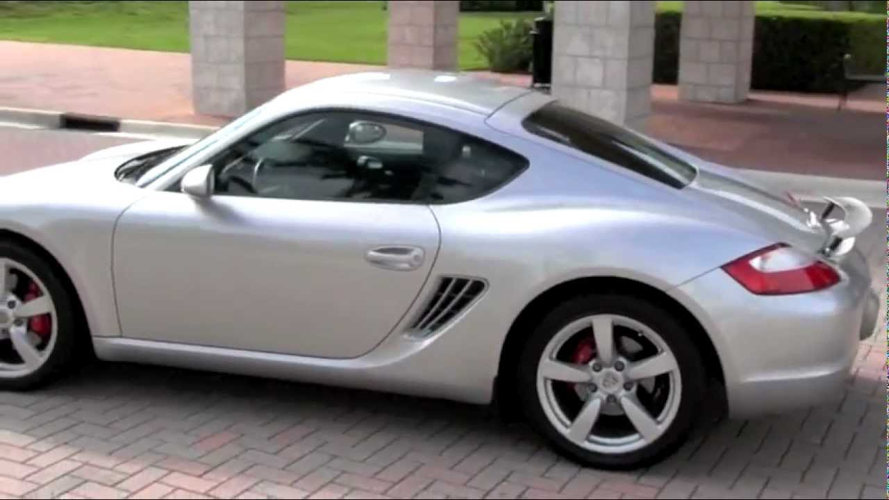 2006 porsche cayman s arctic silver metallic autos of palm beach youtube. Black Bedroom Furniture Sets. Home Design Ideas