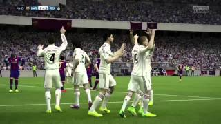 coup franc fifa 15 gameplay