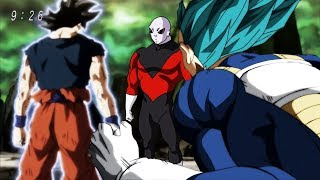 Dragon Ball Super Episode 123 : Vegeta Surpasses SSJ Blue - Goku vs Jiren