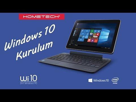 Tablet PC'ye Nasıl Format Atılır Baştan Sona Ayrıntılı (Hometech Wİ10)