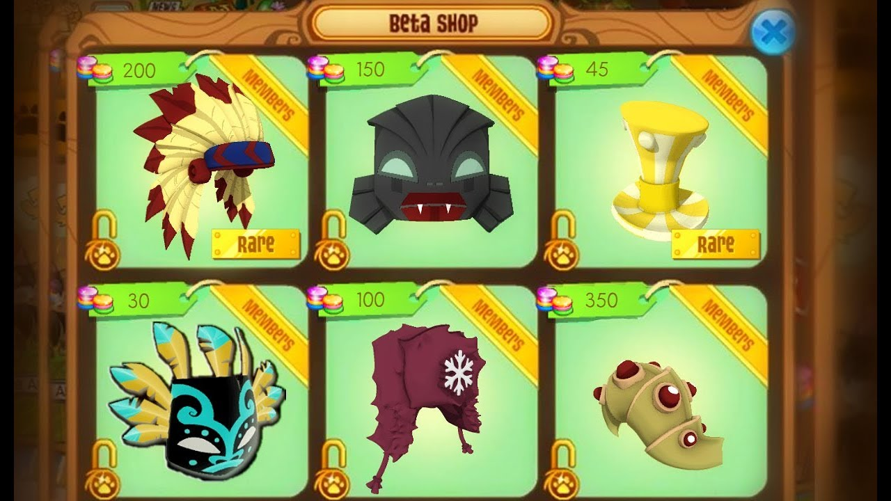 Animal Jam Beta Days!ll What they looked like! - YouTube