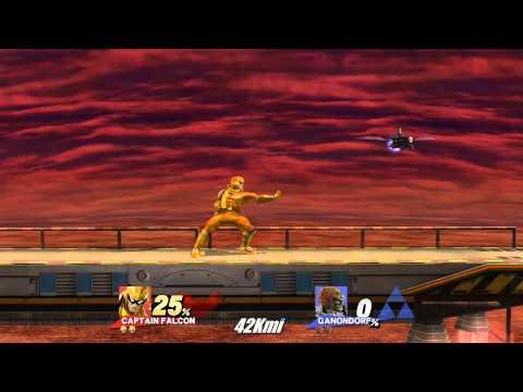 Super Smash Bros for Wii U: Captain Falcon vs Ganondorf