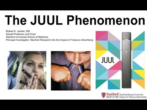 The JUUL Phenomenon By Dr. Robert Jackler