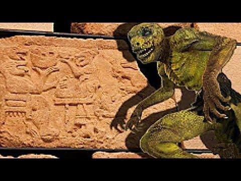 ¡Die Erschreckendste Szene Der Antike - Reptiloide Essen Menschen!