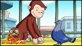 Coco der Neugierige Affe Deutsch🐵Coco, der Rettungsaffe 🐵Ganze Folgen🐵Cartoons für Kinder