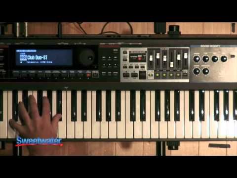 Roland JUNO-Gi Synth Demo - Sweetwater