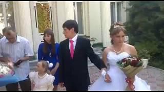 невесту об асфальт. Свадьба года. Горько!!!