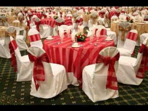 Party hall decoration ideas youtube for Hall decoration images