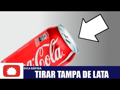 Como Tirar Tampa De Lata De Alumínio Diy Dica Rápida 33 Youtube