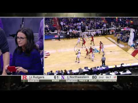 Charlie Hall Snags Rebound vs. Rutgers
