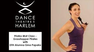 Pilates Mat Class - Grasshopper Pilates with DTH Alumna Gina Papalia