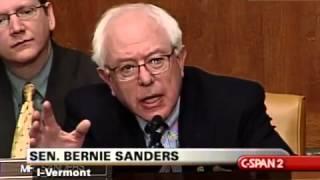 Bernie Sanders Grills Hank Paulson (1) [2/8/2007]