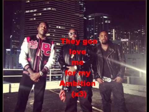 Wale and Rick Ross - Ambition (Featuring Meek Mill) Lyrics
