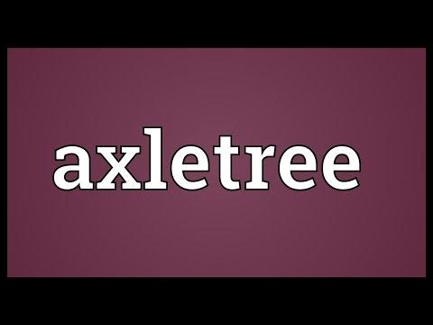 Header of axletree