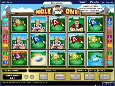 Игровой автомат Hole in One играть бесплатно и без регистрации онлайн