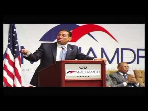 """Presidente de la CNE expone sobre """"Expansión en Generación en RD"""", Cámara Americana de Comercio"""