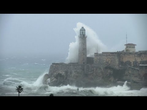 """Cuba's historic Malecon is """"under the weather"""""""