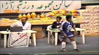 مسابقه تاریخی فوتسال استقلال ۳ ۷ فتح فیلم اختصاصی علی کریمی