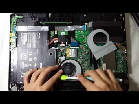 How to Clean your Laptop Fan (solve overheating issue) 2016