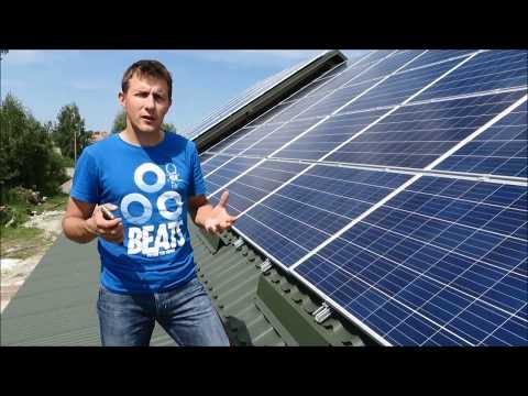 Сонячна станція на даху | Рекомендації, переваги
