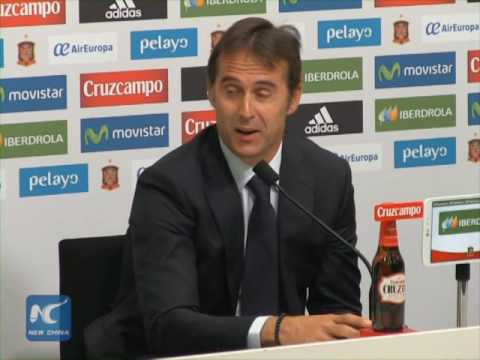 Julen Lopetegui appointed as new coach of Spain's national football team