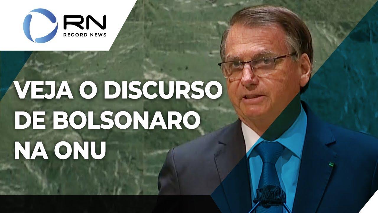 Download Veja a íntegra do discurso de Bolsonaro na Assembleia Geral da ONU