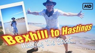 Bexhill on Sea to Hastings - Walk the British Coast - London Day out Travel Guide by an Englishman